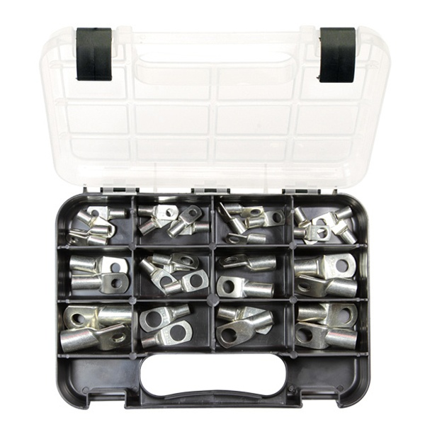Champion GJ Grab Kit 34pc Metal Cable Lugs