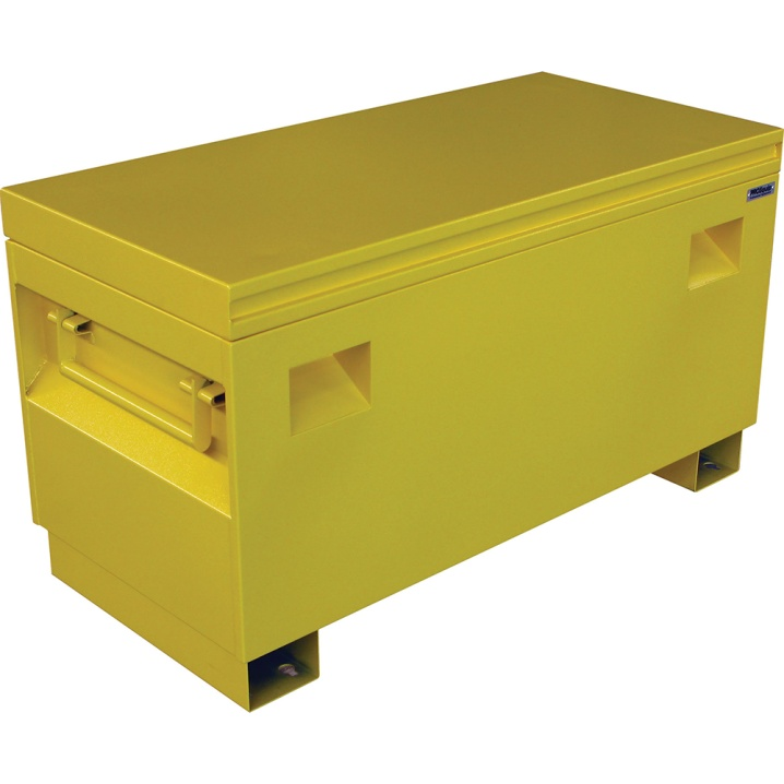 ProEquip Steel Jobsite Tool Box1067x508x595mm Yellow