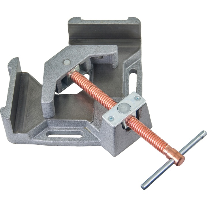 Stronghand Welders Angle Clamp, 2-Axis, Quick Action Screw