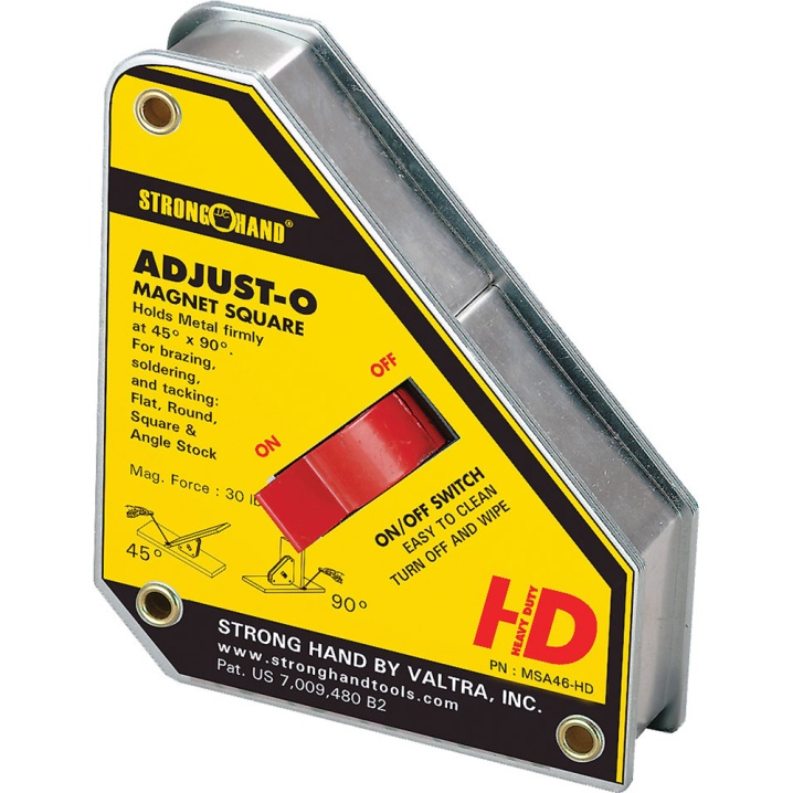 Stronghand Adjust-O Magnet Square Heavy Duty 65KG