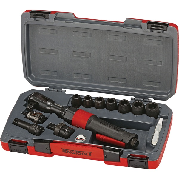 11PC 1/2IN AIR RATCHET SET (120NM