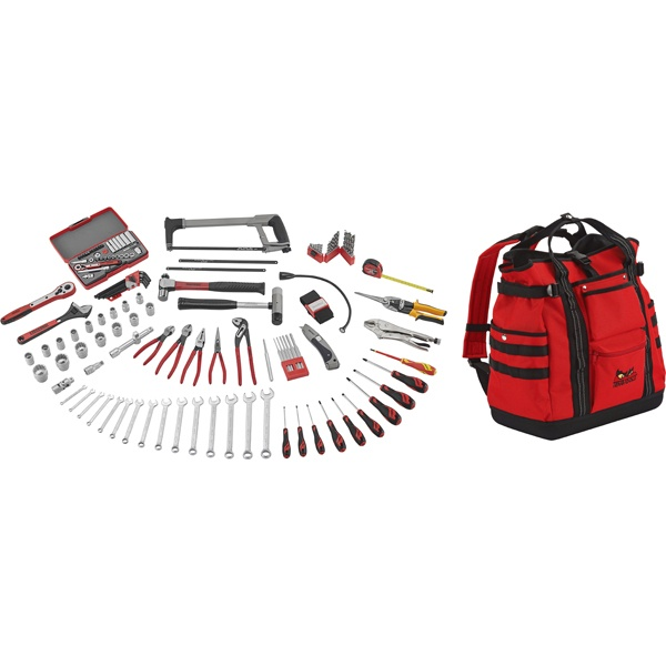 144 Piece Portable Service Tool Kit
