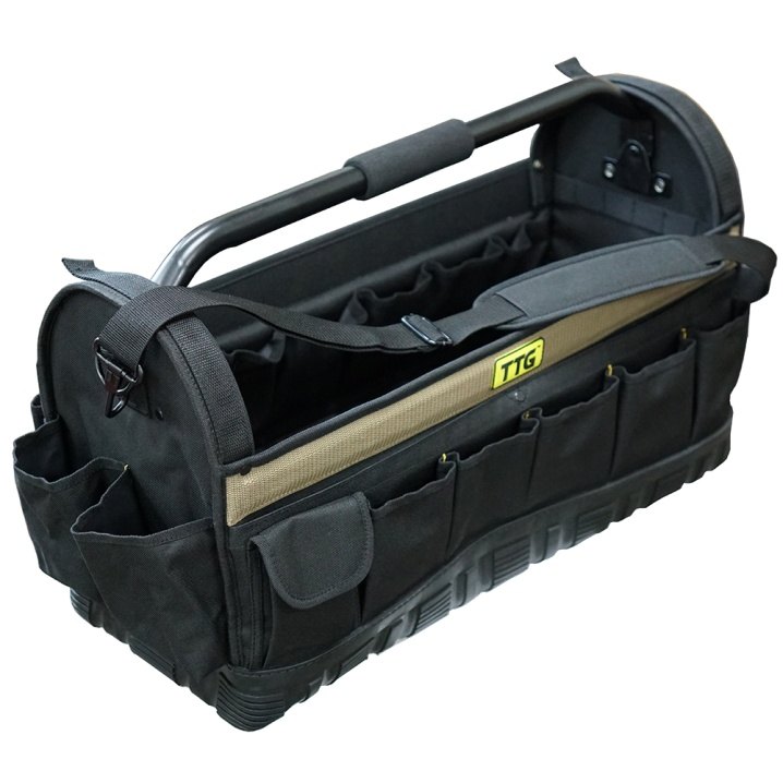 TTG 24in Open Top Tool Bag w/ Moulded Rubber Base