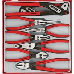 8PC MEGA BITE VINYL GRIP PLIER SET - DBL TC-TRAY™
