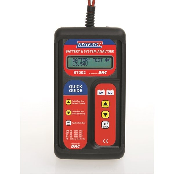 DIGITAL BATTERY & SYSTEM TESTER
