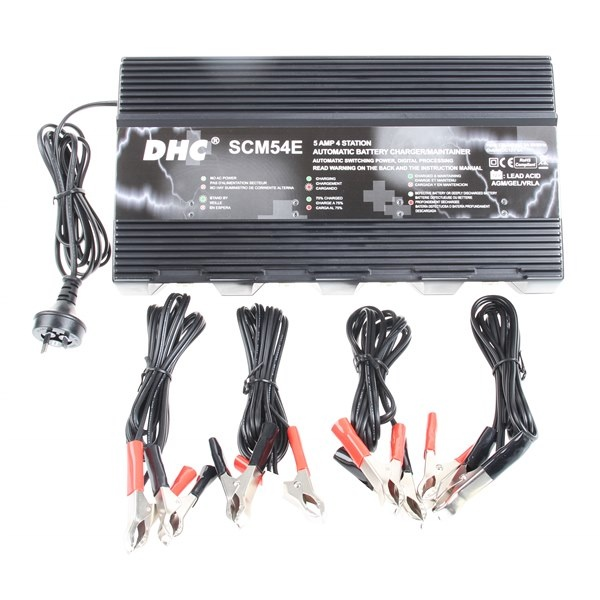 12V 4 STATION BATTERY CHARGER