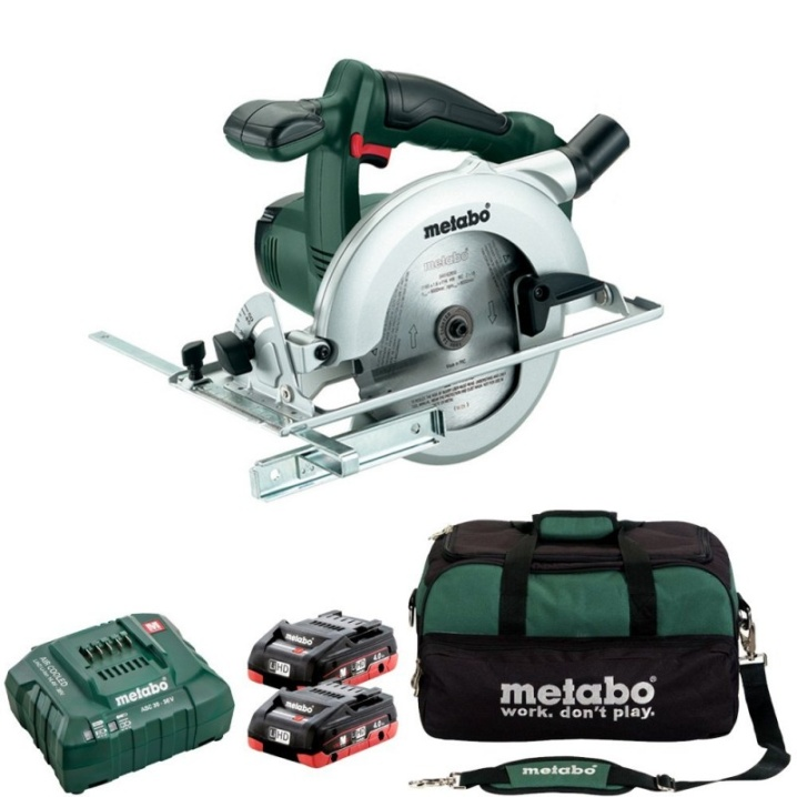 Metabo KSA 18 LTX Circular Saw KIT