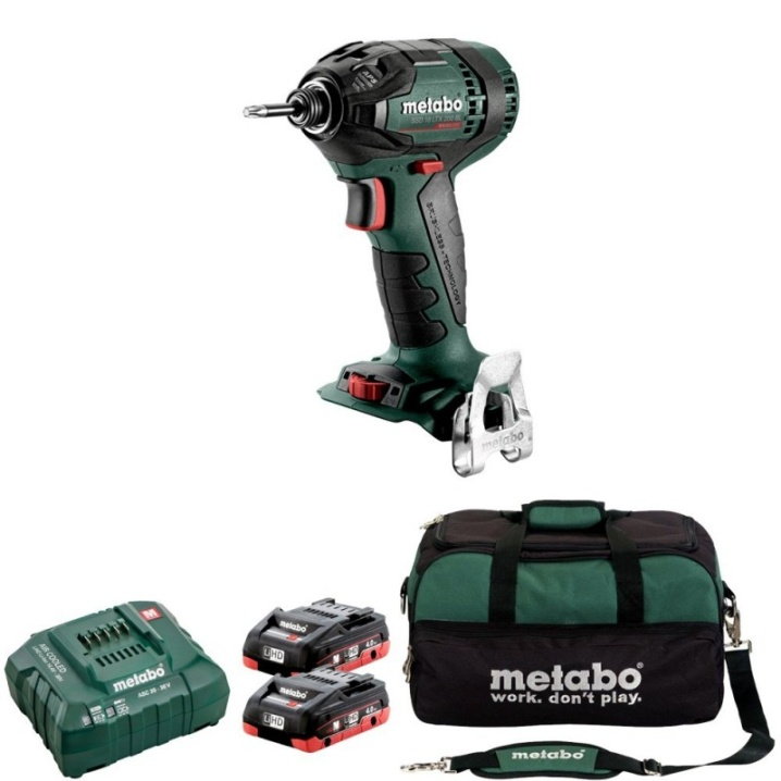Metabo SSD 18 LTX BL 200 KIT