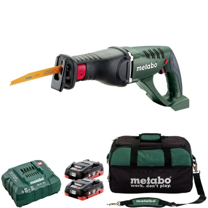 Metabo ASE 18 LTX 18V Sabre Saw KIT