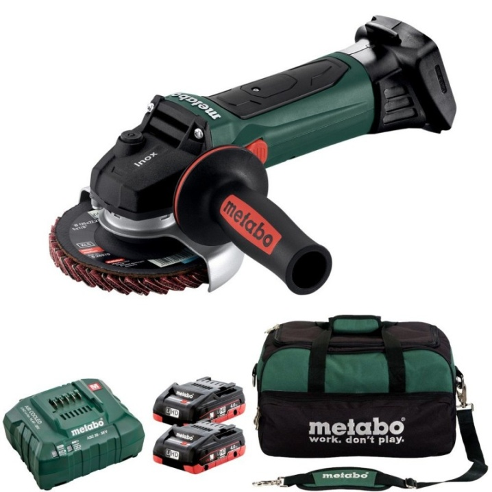Metabo W 18 LTX 125 Inox KIT
