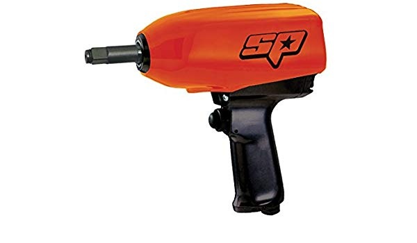 "1/2""Dr 425 ft/lb Impact Wrench Twin Hammer Long Anvil"