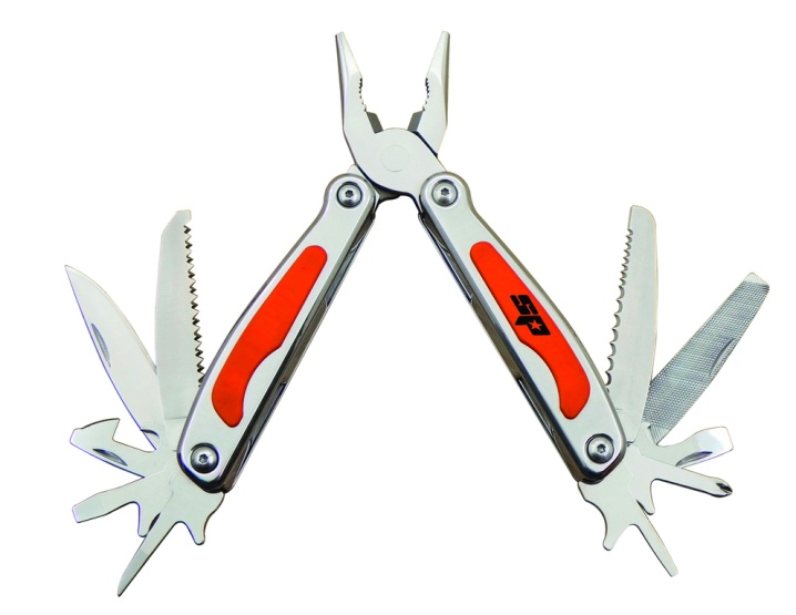 13 in 1 Multi-Function Tool with LED Flash Light
