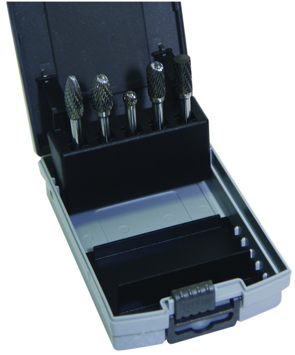 5pc Tungsten Carbide Burr Set