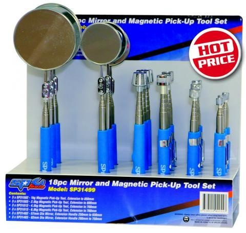 Mirror & Magnetic Pick-Up Tool Display Set