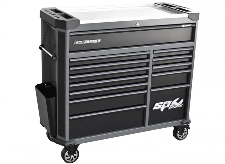 Tech Series Roller Cabinet 13 Drawer (DIAMOND BLACK)