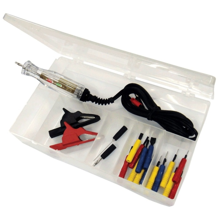 Terminal Adaptater Kit with Circuit Tester - 14pc