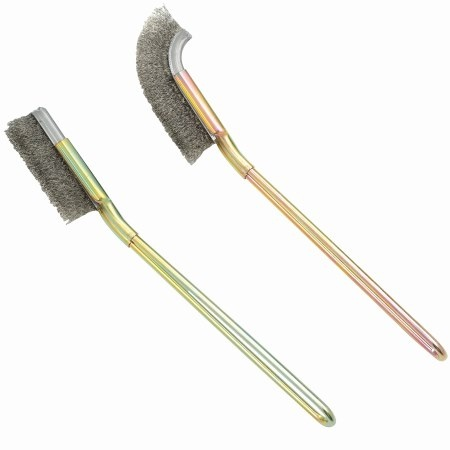 Stainless Steel Bristles Cleaning Brush Set