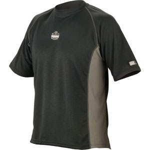 CORE PERFORMANCE WORK WEAR™ 6420 SHORT SLEEVE - 2XL - BLACK