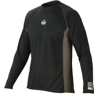CORE PERFORMANCE WORK WEAR™ 6425 LONG SLEEVE - 2XL - BLACK