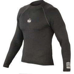 CORE PERFORMANCE WORK WEAR™ 6435 LONG SLEEVE - M - BLACK