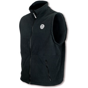 CORE PERFORMANCE WORK WEAR™ 6443 FLEECE VEST - L - BLACK