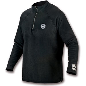 CORE PERFORMANCE WORK WEAR™ 6445 FLEECE - 2XL - BLACK