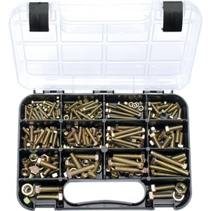 Champion GJ Grab Kit 236pc Metric Bolts & Nuts (GR8.8)