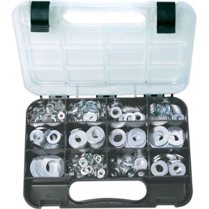 GJ GRAB KIT 740PC FLAT WASHERS METRIC & IMPERIAL. (A)