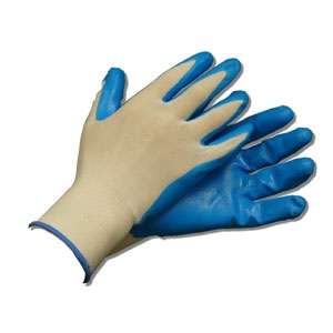 HANDPLUS NITRILE COATED GLOVES (PAIR)