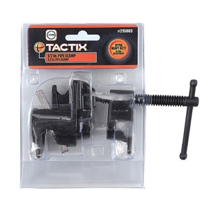 Tactix Clamp Pipe 1/2in