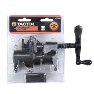 Tactix Clamp Pipe 3/4in