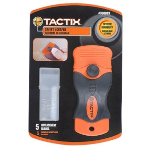 Tactix Scraper Safety w/ 5pc Blade