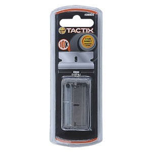 TACTIX - SCRAPER BLADE 10PC