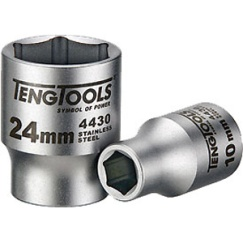 1/2IN DR. 4430(SS) 6-T 21MM SOCKET