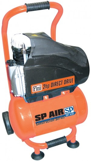 2HP Trade Duty Portable Air Compressor - Upright