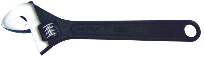 Adjustable Wrench - Black 100mm