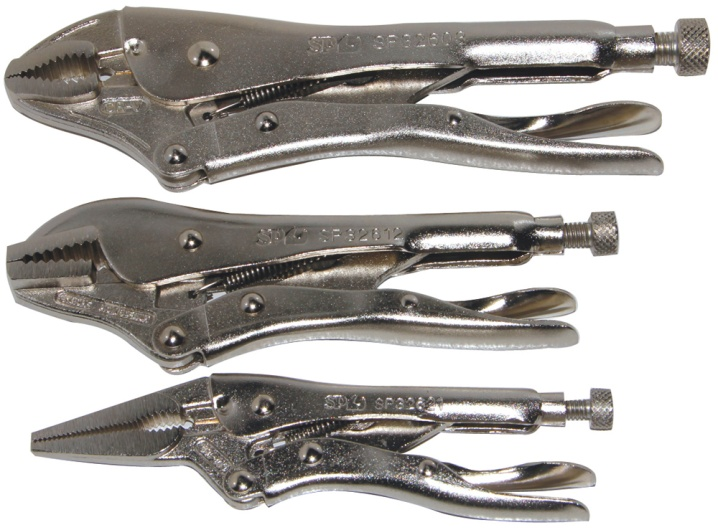 3pc Locking Plier Set