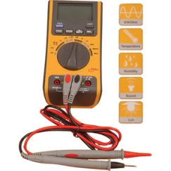 Professionals 5 In 1 Autorange Multimeter