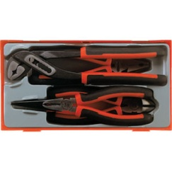 4PC MEGA BITE TPR PLIER SET