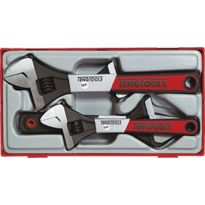 4PC ADJUSTABLE WRENCH SET