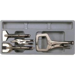 4PC POWER GRIP PLIER SET-PS TRAY