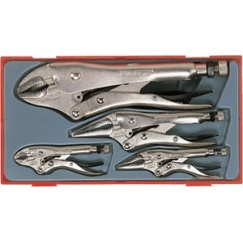 5PC POWER GRIP PLIER SET