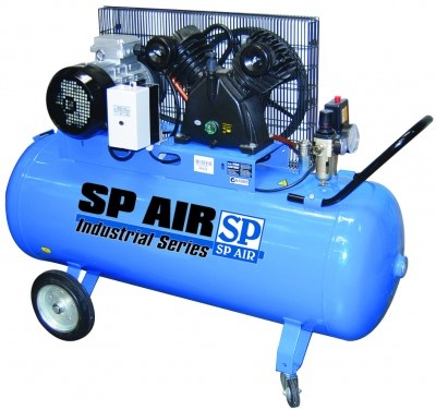 SP AIR INDUSTRIAL 5.5HP SEMI STATIONARY WORKSHOP COMPRESSOR
