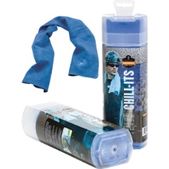 CHILL-ITS® 6602 COOLING TOWEL - BLUE