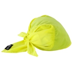 CHILL-ITS® 6710CT EVAP. COOLING TRI-HAT W/COOLING TOWEL-LIME
