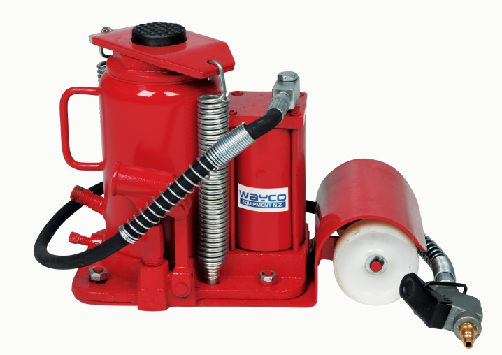Wayco 20 Ton Air/Hydraulic Bottle Jack